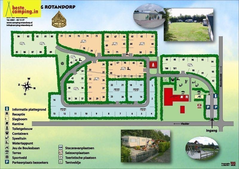 Faciliteiten SVR Camping Rotandorp★★★ in Noordwolde ...